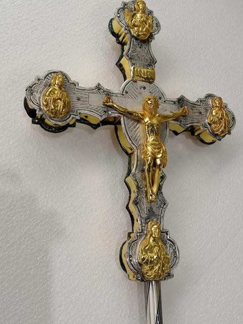 croce astile post restauro