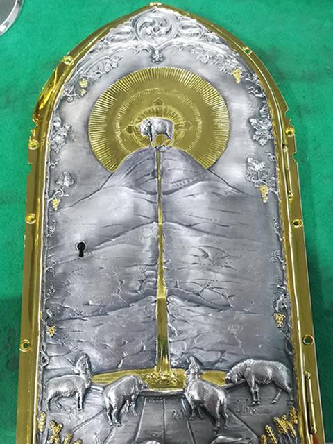 porta tabernacolo post restauro